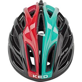KED Gravelon Helmet, negro/Turquesa